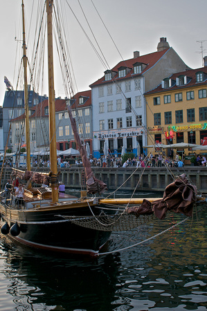 Nyhavn in the evening